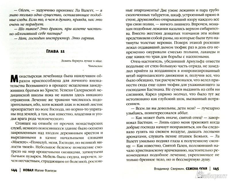 Иллюстрация 1 из 6 для Семена огня - Владимир Свержин | Лабиринт - книги. Источник: Лабиринт