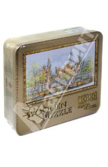 Puzzle-1000 Амстердам. Вдоль канала (10065) puzzle 1000 сюрприз волк mordillo classics 29171