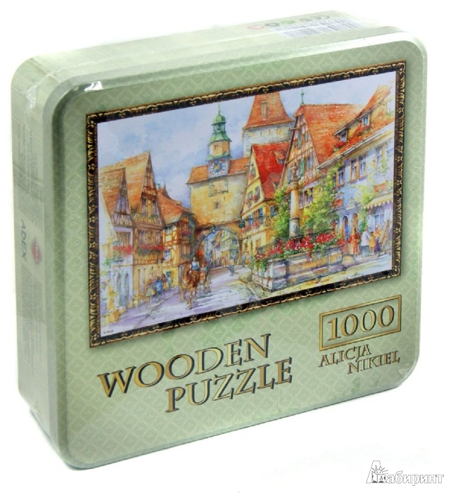 "Иллюстрация 1 из 15 для Puzzle-1000 ""Ротенбург. Маркштурм"" (10075) | Лабиринт - игрушки. Источник: Лабиринт"