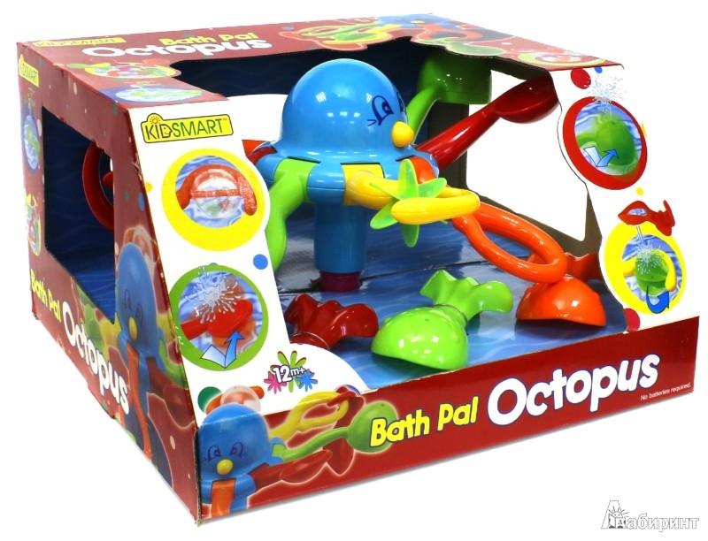 Иллюстрация 1 из 5 для Осьминог для ванной Bath Pal Octopus (25070) | Лабиринт - игрушки. Источник: Лабиринт