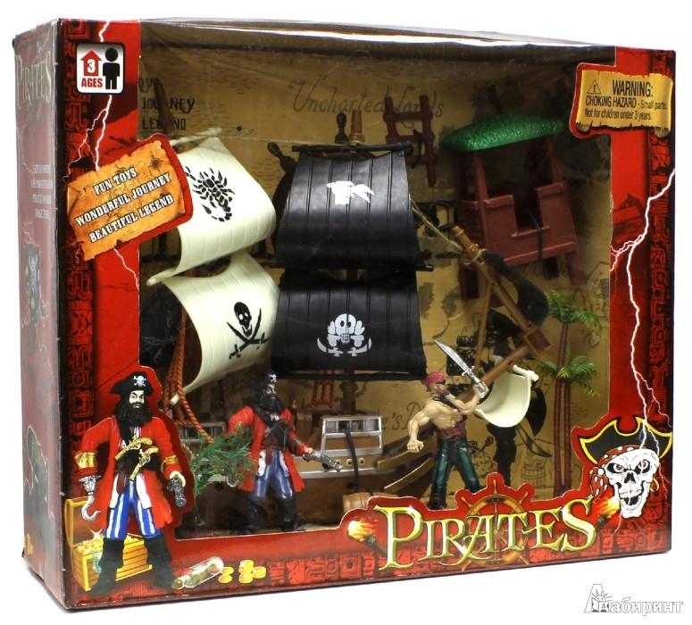 """Иллюстрация 1 из 2 для Игровой набор """"Пираты"""" с фигурками (43720)   Лабиринт - игрушки. Источник: Лабиринт"""