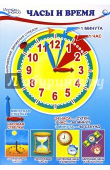"""Комплект познавательных мини-плакатов """"Математика. Ориентировка во времени"""""""