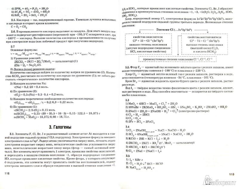 Гдз по химии 10 класса.а.каверина