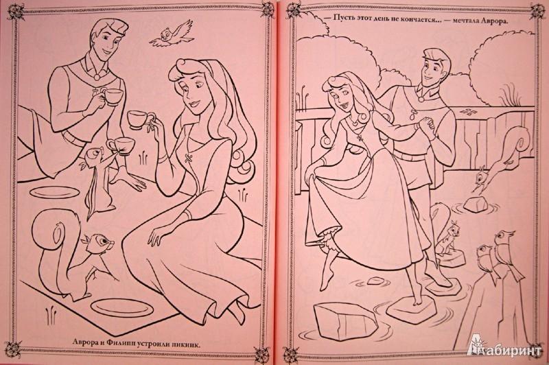 Иллюстрация 1 из 27 для Розовые мечты. Принцессы. Книжка-раскраска (с мелками) | Лабиринт - книги. Источник: Лабиринт
