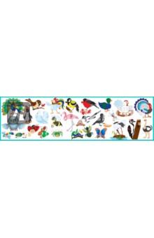 Развивающий магнитный набор Насекомые и птицы (М-05) набор наклеек животный мир насекомые и птицы н 1409