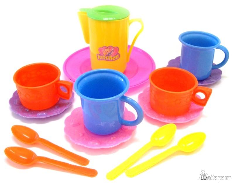 Иллюстрация 1 из 12 для Игровой набор. Посудка (EJ12323R)   Лабиринт - игрушки. Источник: Лабиринт