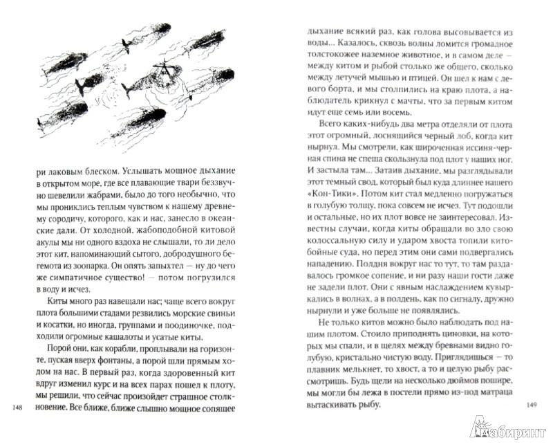 Иллюстрация 1 из 13 для Кон-Тики - Тур Хейердал | Лабиринт - книги. Источник: Лабиринт