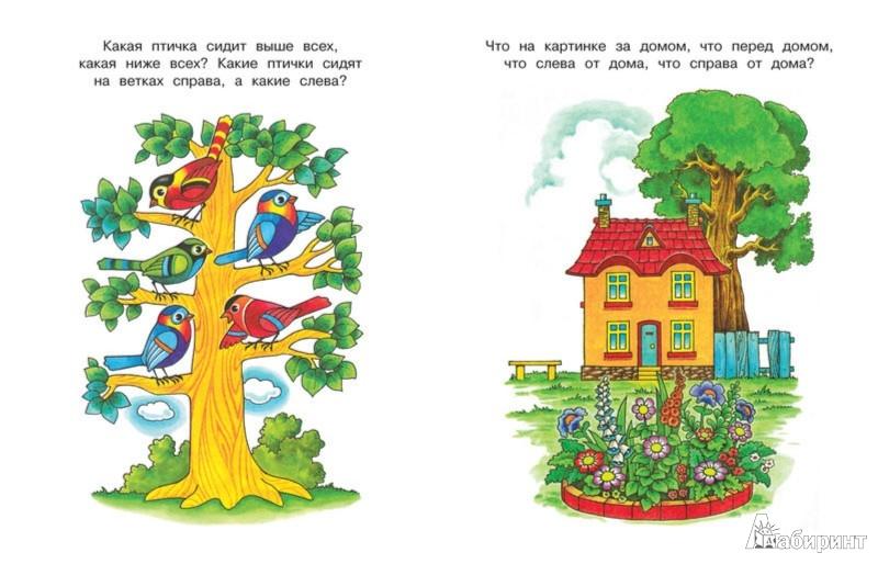 Иллюстрация 1 из 16 для Вправо-влево, вверх-вниз. Ориентируемся в пространстве (Для детей 3-4 лет) - Ольга Земцова | Лабиринт - книги. Источник: Лабиринт