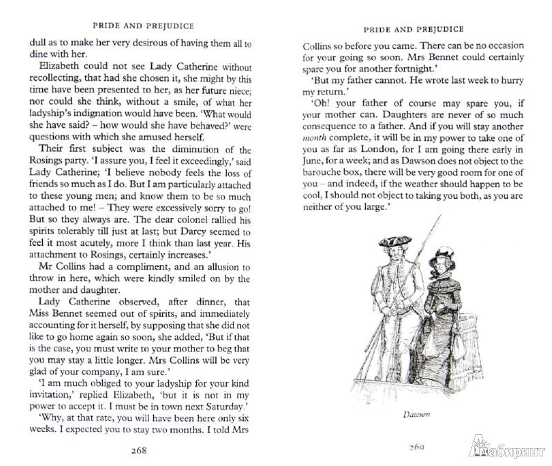 Иллюстрация 1 из 13 для Pride and Prejudice - Jane Austen | Лабиринт - книги. Источник: Лабиринт