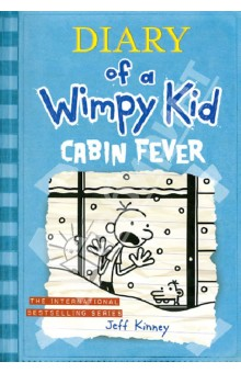 Diary of a Wimpy Kid. Cabin Fever db3814 dave bella autumn baby boys star printed t shirt kids navy tees bosy tops kids t shirts