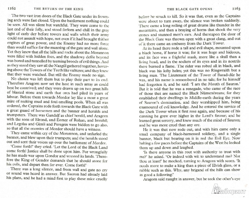 Иллюстрация 1 из 19 для The Lord of the Rings: The Return of the King - Tolkien John Ronald Reuel   Лабиринт - книги. Источник: Лабиринт