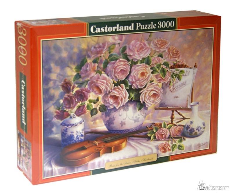 """Иллюстрация 1 из 10 для Puzzle-3000 """"Вечерние розы"""" (C-300341)   Лабиринт - игрушки. Источник: Лабиринт"""
