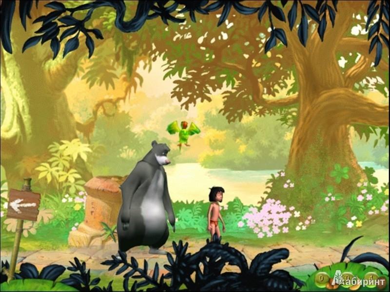 Иллюстрация 2 из 3 для Книга Джунглей. Готовимся к школе с Маугли (DVDpc) | Лабиринт - софт. Источник: Лабиринт