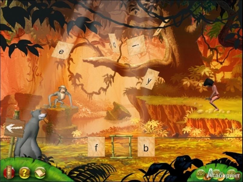 Иллюстрация 3 из 3 для Книга Джунглей. Готовимся к школе с Маугли (DVDpc) | Лабиринт - софт. Источник: Лабиринт