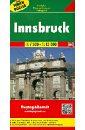 Инсбрук. Карта. Innsbruck 1:7 500 - 1:15 000