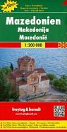 Македония. Карта