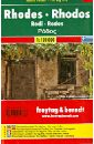 Rhodes. Rhodos. Island Pocket 1:120 000