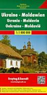 Украина. Молдова.Карта. Ukraine.Moldova 1: 1000000