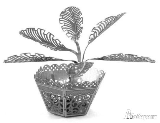 Иллюстрация 1 из 2 для Саговая пальма. Сборная металлическая модель (MMS021) | Лабиринт - игрушки. Источник: Лабиринт
