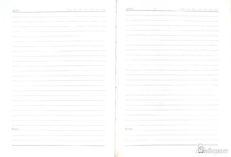Иллюстрация 1 из 11 для Ежедневник недатированный, А6, 80 листов (30229) | Лабиринт - канцтовы. Источник: Лабиринт