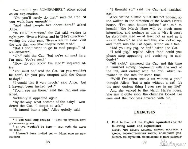 Иллюстрация 1 из 29 для Алиса в стране чудес = Alice's Adventures in Wonderland - Льюис Кэрролл | Лабиринт - книги. Источник: Лабиринт