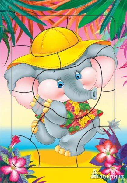 Иллюстрация 1 из 2 для Развивающие рамки. Слоненок (2461) | Лабиринт - игрушки. Источник: Лабиринт