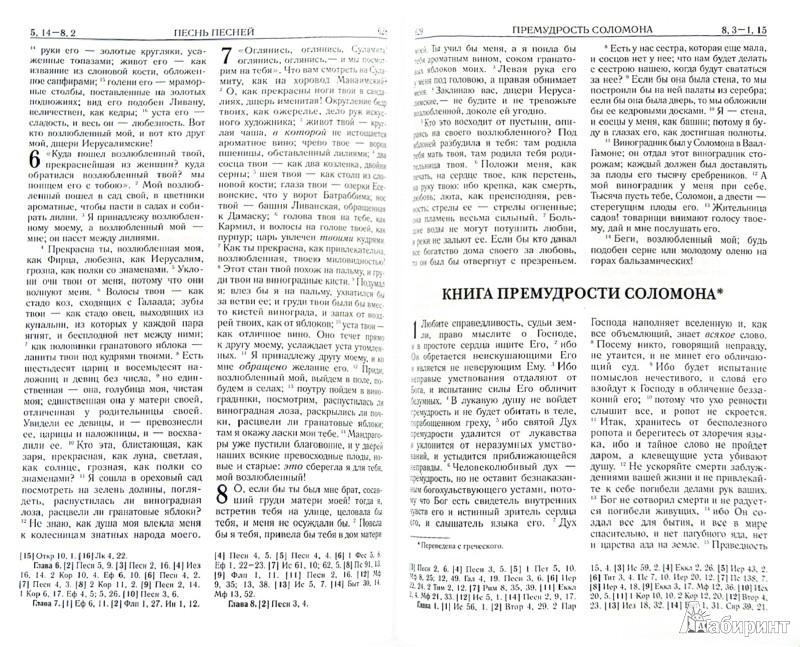 Иллюстрация 1 из 23 для Библия | Лабиринт - книги. Источник: Лабиринт