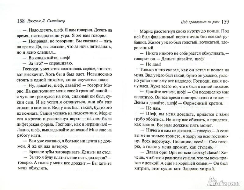 Иллюстрация 1 из 22 для Над пропастью во ржи - Джером Сэлинджер | Лабиринт - книги. Источник: Лабиринт