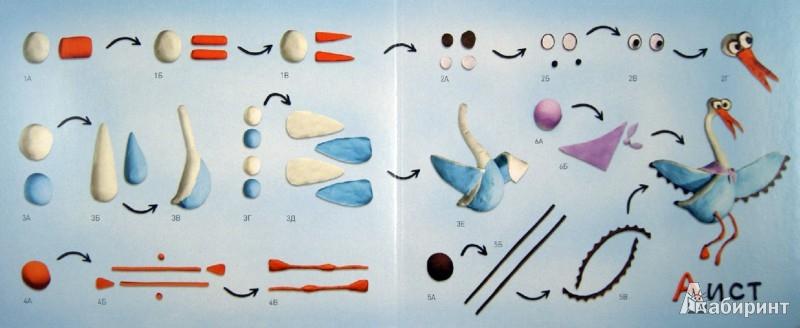 Иллюстрация 1 из 19 для Пластилиновая азбука  АБВ. Читаем и лепим - Меринов, Мельников, Румянцева | Лабиринт - книги. Источник: Лабиринт