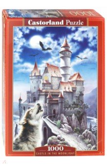 Puzzle-1000 Замок и волк (С-100699) пазлы crystal puzzle 3d головоломка вулкан 40 деталей