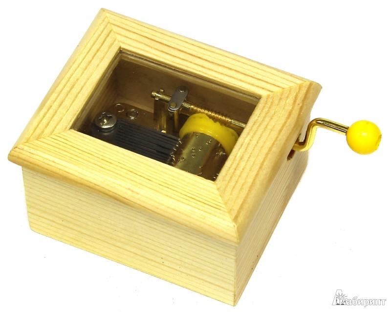 Иллюстрация 1 из 2 для Деревянная мини-шарманка. Звонкие колокольчики | Лабиринт - игрушки. Источник: Лабиринт
