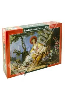 "Puzzle-1500 ""Девушка с собакой"" (C-151219)"