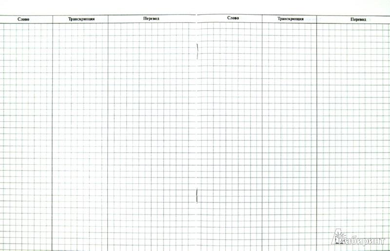 Иллюстрация 1 из 4 для Английский язык. Рабочая тетрадь для записи новых слов + справочные материалы | Лабиринт - книги. Источник: Лабиринт