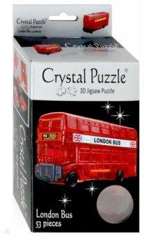 3D головоломка Лондонский автобус (90129) пазлы crystal puzzle головоломка лев