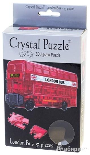 Иллюстрация 1 из 7 для 3D головоломка Лондонский автобус (90129)   Лабиринт - игрушки. Источник: Лабиринт