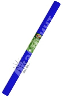 Бумага гофрированная синяя в рулоне (9755015001PM)