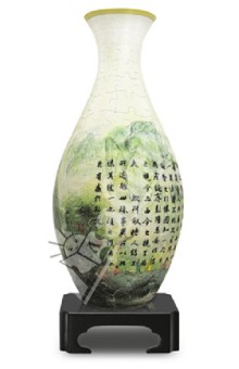 3D Пазл Ваза Китайские мотивы 160 деталей (S1005)