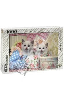 "Step Puzzle-1000 ""Котята"" (79100)"