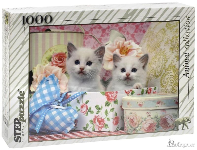 """Иллюстрация 1 из 11 для Step Puzzle-1000 """"Котята"""" (79100)   Лабиринт - игрушки. Источник: Лабиринт"""