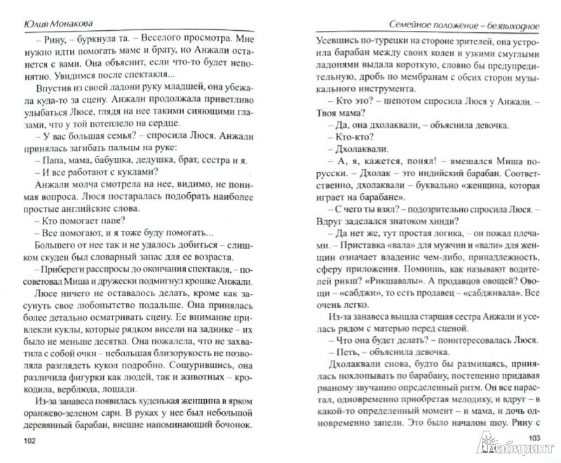 Иллюстрация 1 из 8 для Семейное положение - безвыходное - Юлия Монакова   Лабиринт - книги. Источник: Лабиринт