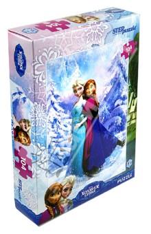 """Puzzle-104 """"Disney. Холодное сердце"""" (82126)"""