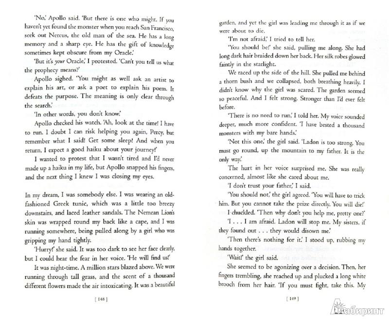 Иллюстрация 1 из 7 для Percy Jackson and the Titan's Curse - Rick Riordan | Лабиринт - книги. Источник: Лабиринт