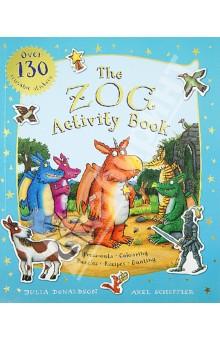 Zog Activity Book my snowman activity sticker book