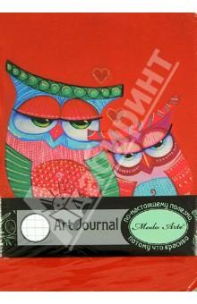 Бизнес-блокнот Modo Arte Owls А5- (6100) блокнот в пластиковой обложке моне терраса в сент адресс формат а5 160 стр арте