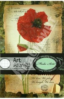 """Бизнес-блокнот Modo Arte """"Flowers"""" А6 (7202) от Лабиринт"""