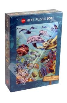 Puzzle-500 Подводные обитатели (29623) puzzle 500 яркие совы alpz500 7701