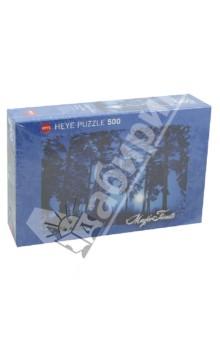 Puzzle-500 Полнолуние в лесу (29625) латексные искусственные розочки в розницу москва