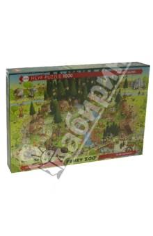 Puzzle-1000 Лесной зоопарк (29638) водораскраска пазл зоопарк pr1057