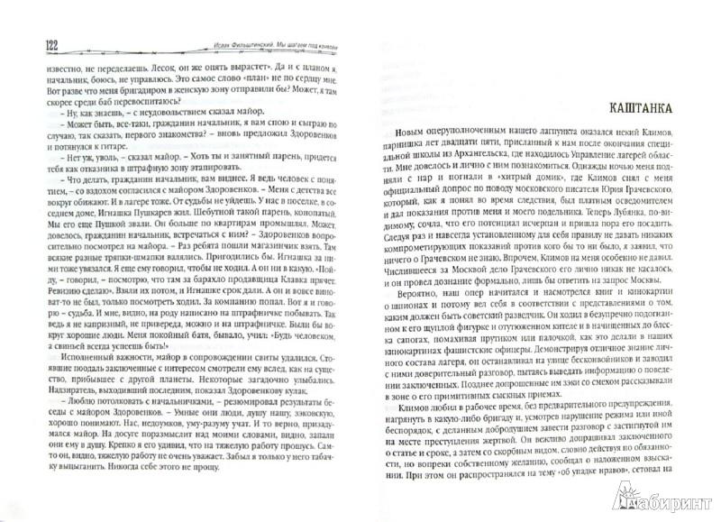 Иллюстрация 1 из 11 для Мы шагаем под конвоем. Рассказы из лагерной жизни - Исаак Фильштинский | Лабиринт - книги. Источник: Лабиринт