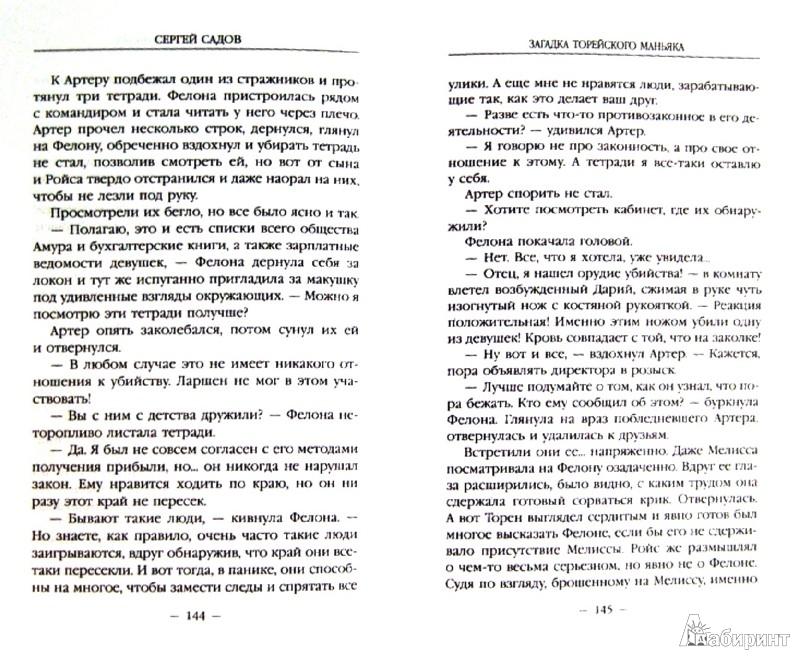 Иллюстрация 1 из 18 для Загадка Торейского маньяка - Сергей Садов | Лабиринт - книги. Источник: Лабиринт